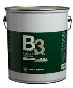 Transparent træbeskyttelse B3 504