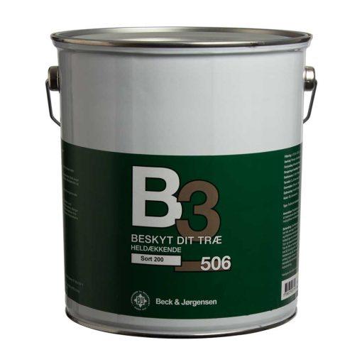 Heldækkende træbeskyttelse B3 506