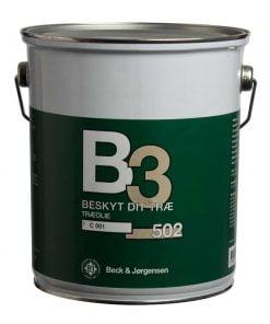 Beck og Jørgensen træolie B3 502