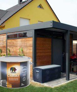Caparol Carat træbeskyttelse carport