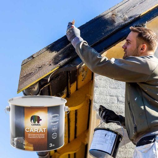 Caparol Carat træbeskyttelse til hus