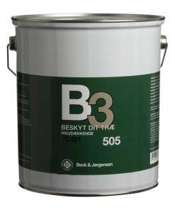 Halvdækkende træbeskyttelse B3 505