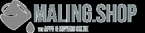 Maling Shop Logo grå
