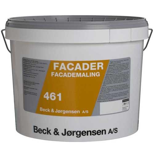 Facademaling fra beck og Jørgensen