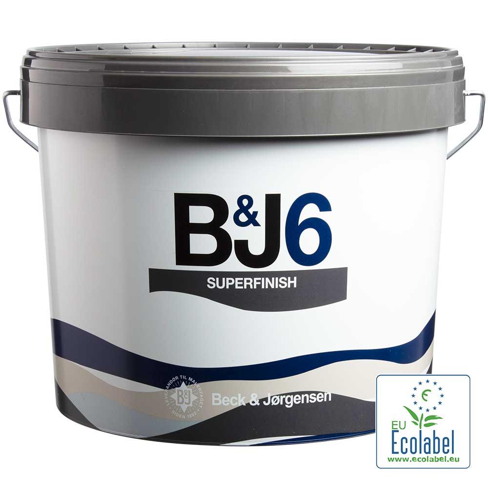 Beck og Jørgensen BJ6 vægmaling superfinish