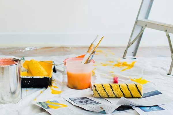 Tilbehør og værktøj til maling