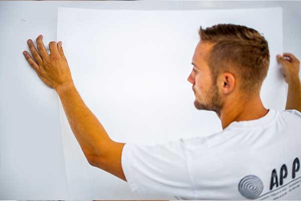Tapet, glasfilt og vægbeklædning