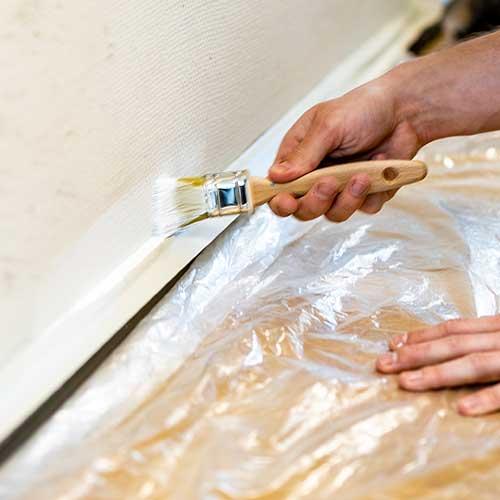 Afdækning til maling