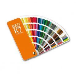 RAL K7 farvekort til maling