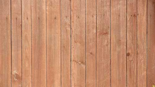 halvdækkende træbeskyttelse