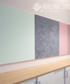 Tre farver indfarvet spartel Stucco Satinato