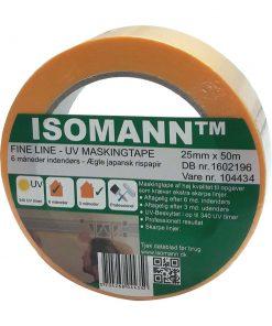 ISOmann UV malertape og afdækningstape