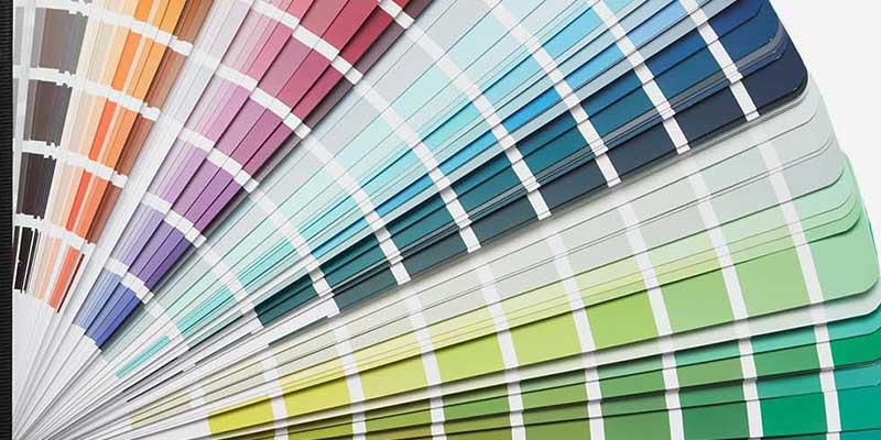 NCS farvevifte og farvekoder