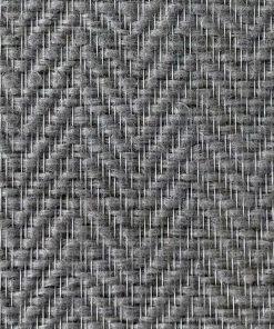 Glasvæv med groft mønstret sildeben