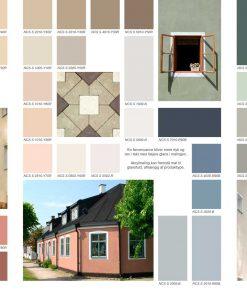 Farvekort til facademaling