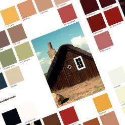 Gratis farvekort træbeskyttelse