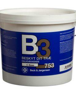 Halvdækkende træbeskyttelse B3 753