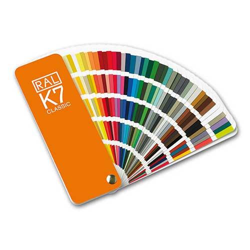 Menu farvekort til maling