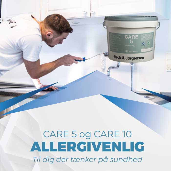 Allergivenlig maling Care 5 og Care 10